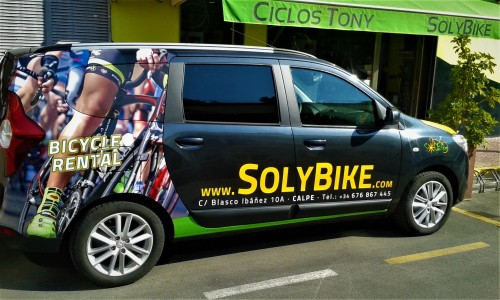 Solybike bike rental Calpe