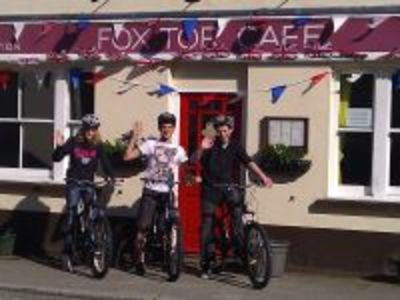 Princetown Cycle Hire Fox Tor Cafe